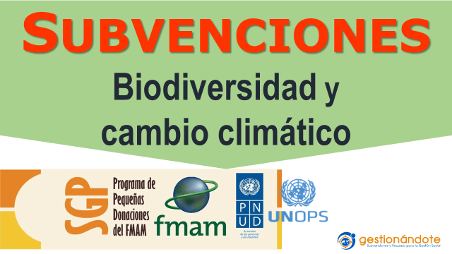 Subvenciones de PNUD para medio ambiente en Latinoamérica