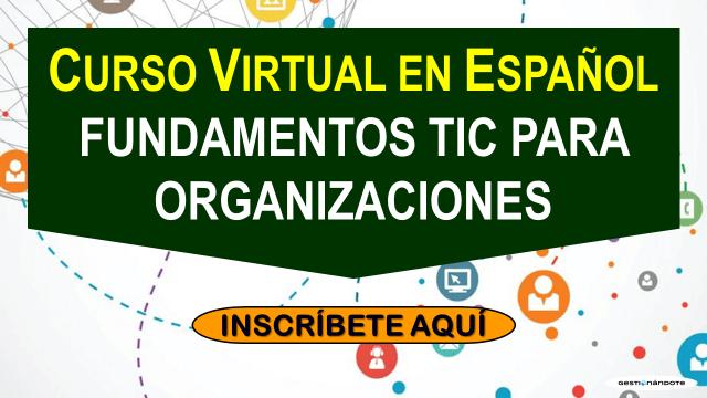 Curso sobre fundamentos TIC para organizaciones