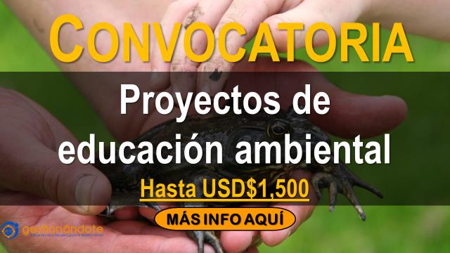 Subvenciones para proyectos de educación ambiental
