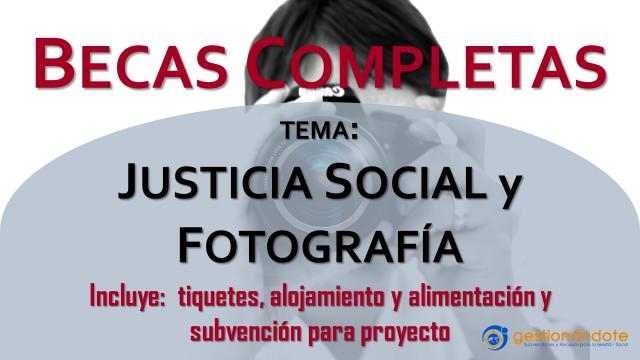 Becas completas en Nueva York para fotografía y justicia social