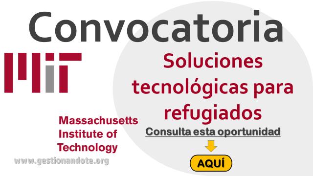 MIT premia las mejores soluciones tecnológicas para refugiados