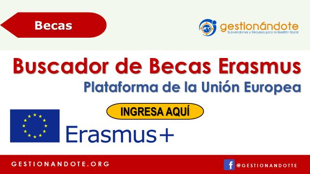 Buscador de Becas Erasmus en Plataforma de la Unión Europea