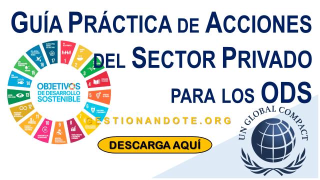 Guía práctica de acciones del sector privado para los ODS – Descarga aquí