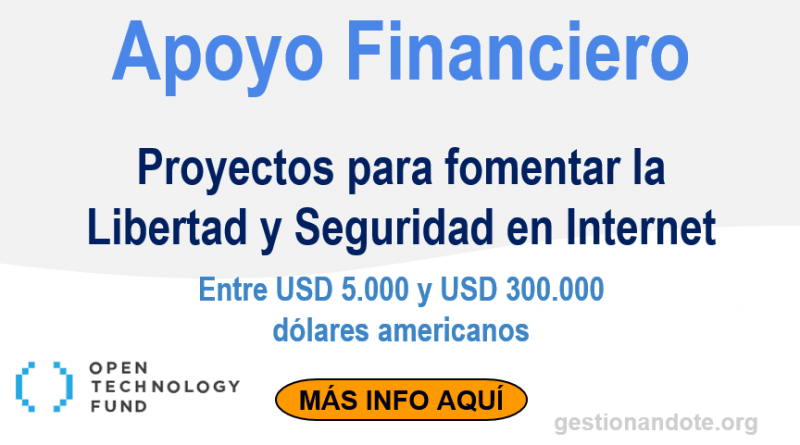 apoyo financiero opentechnology