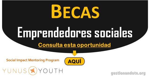 Becas para Emprendedores Sociales