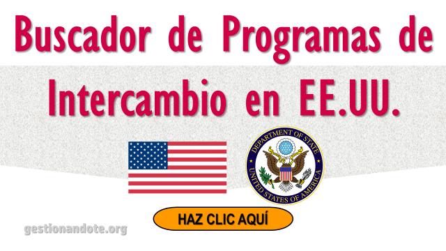 Buscador de Programas de Intercambio en EE.UU.