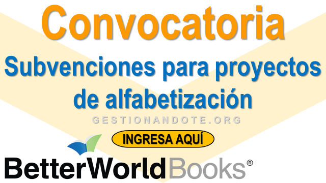 ¡Participa! Subvenciones para proyectos de alfabetización comunitarios