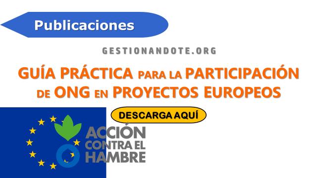 Guía Práctica para la Participación de ONG en proyectos europeos