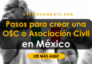 Pasos para crear una OSC o Asociación Civil en México
