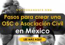 Pasos para crear una OSC o Asociación Civil en México