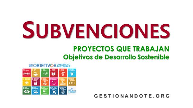 AGFUND financia proyectos que trabajen los ODS