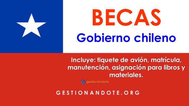 Becas de Chile para colombianos, peruanos y mexicanos