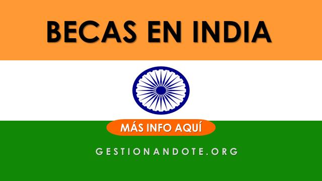 Gobierno de la India entrega becas para cursos cortos en diferentes áreas