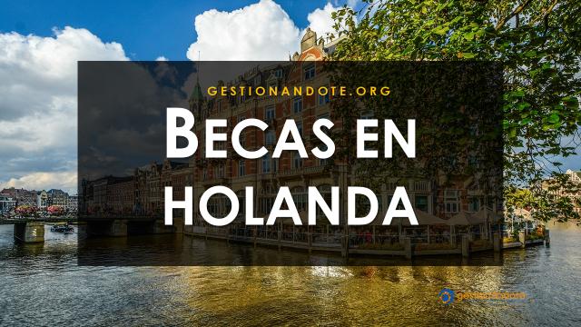 Becas parciales para estudiar en Holanda