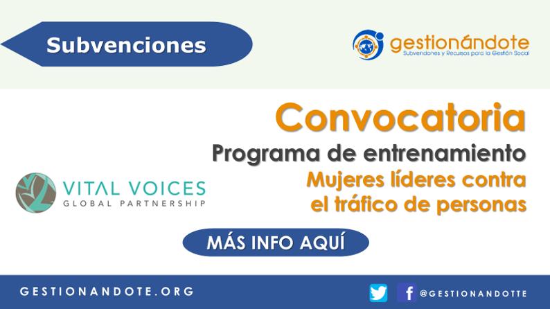 Programa de entrenamiento para mujeres líderes – GFE
