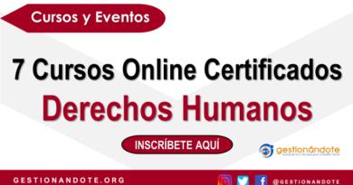 7 Cursos Online Certificados en Derechos Humanos