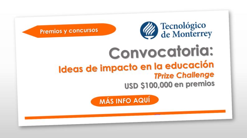 Convocatoria para ideas de impacto en la educación – TPrize