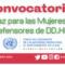 Convocatorias del Fondo ONU para el Sostenimiento de la Paz en Colombia