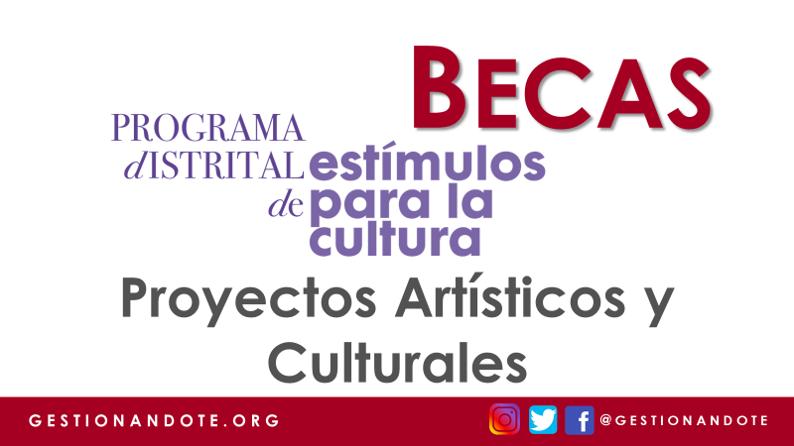 Becas para Proyectos Culturales en Bogotá