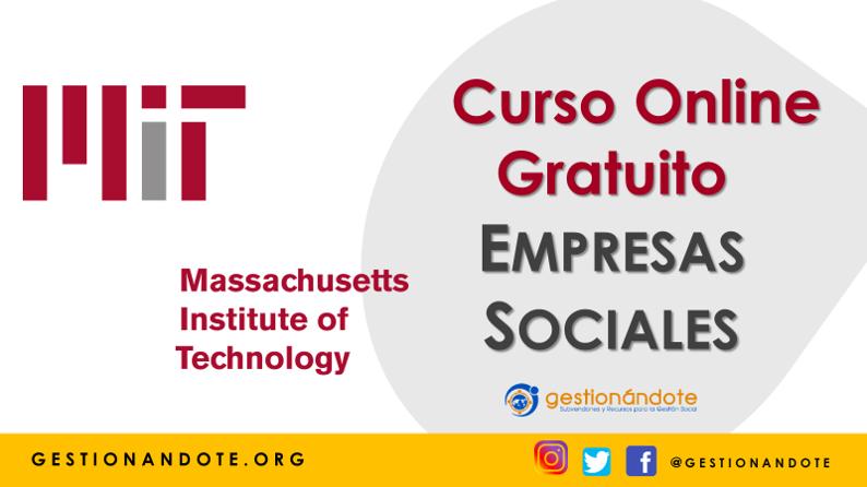 Curso Online Gratuito del MIT en Empresas Sociales