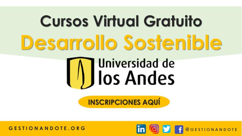 Curso Virtual Gratuito sobre Desarrollo Sostenible