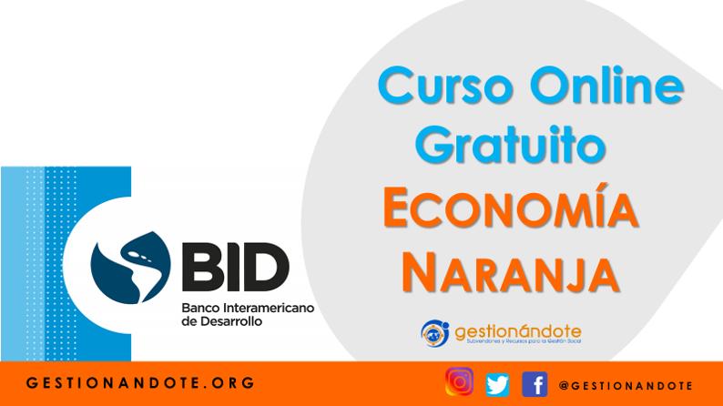 Curso del BID sobre la Economía Naranja