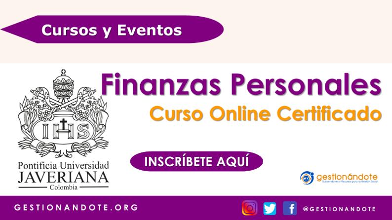 Curso en Finanzas Personales de la Universidad Javeriana