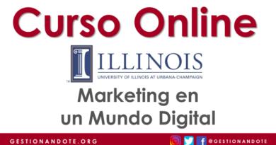 Curso virtual en español en marketing digital – Universidad de Illinois