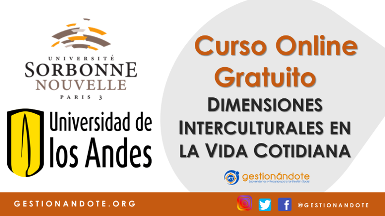 Curso Online sobre las dimensiones interculturales en la cotidianidad