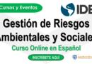 Curso del BID en Gestión de Riesgos Ambientales y Sociales