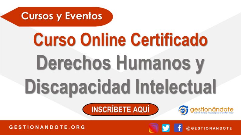 Curso Online: Derechos Humanos y Discapacidad Intelectual