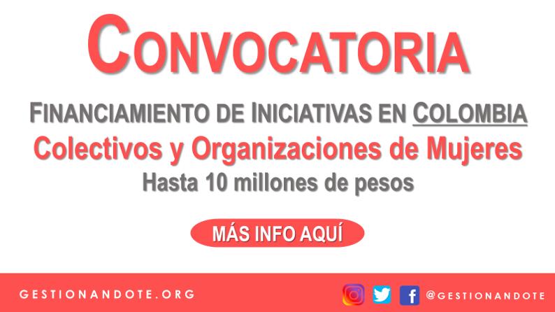 Financiamiento de proyectos de mujeres en Colombia