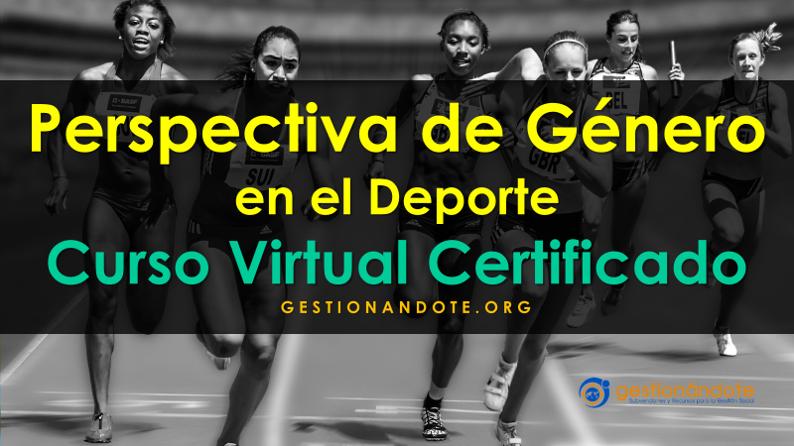 Curso Certificado Perspectiva de Género en Actividad Física y Deporte