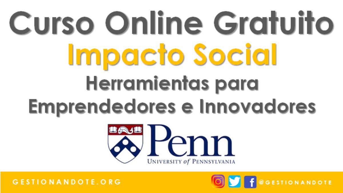 Curso Certificado en Estrategia de Impacto Social