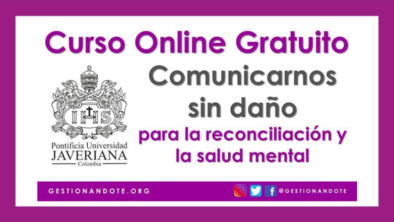 Curso Virtual en comunicación para la reconciliación – Javeriana