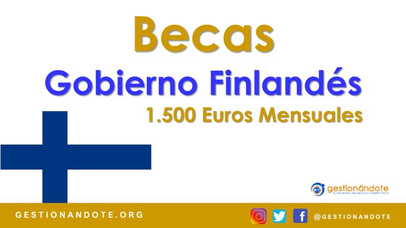 Convocatoria de Becas del Gobierno Finlandés