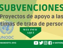 Subvenciones para proyectos de apoyo a las víctimas de trata de personas