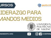 Curso de Politécnica de Valencia en Liderazgo para mandos medios