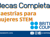 Becas completas del British Council para Mujeres STEM