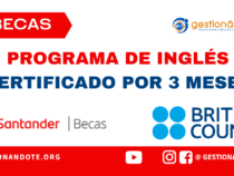 Becas Santander y British Council para programa de inglés