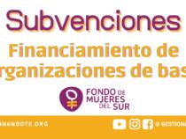 Subvenciones a organizaciones de base – Fondo de Mujeres del Sur