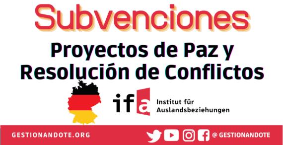 Subvenciones de Alemania para paz y resolución de conflictos – ZIVIK