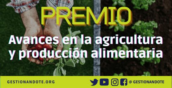 Premio Borlaug para avances en la agricultura y producción alimentaria